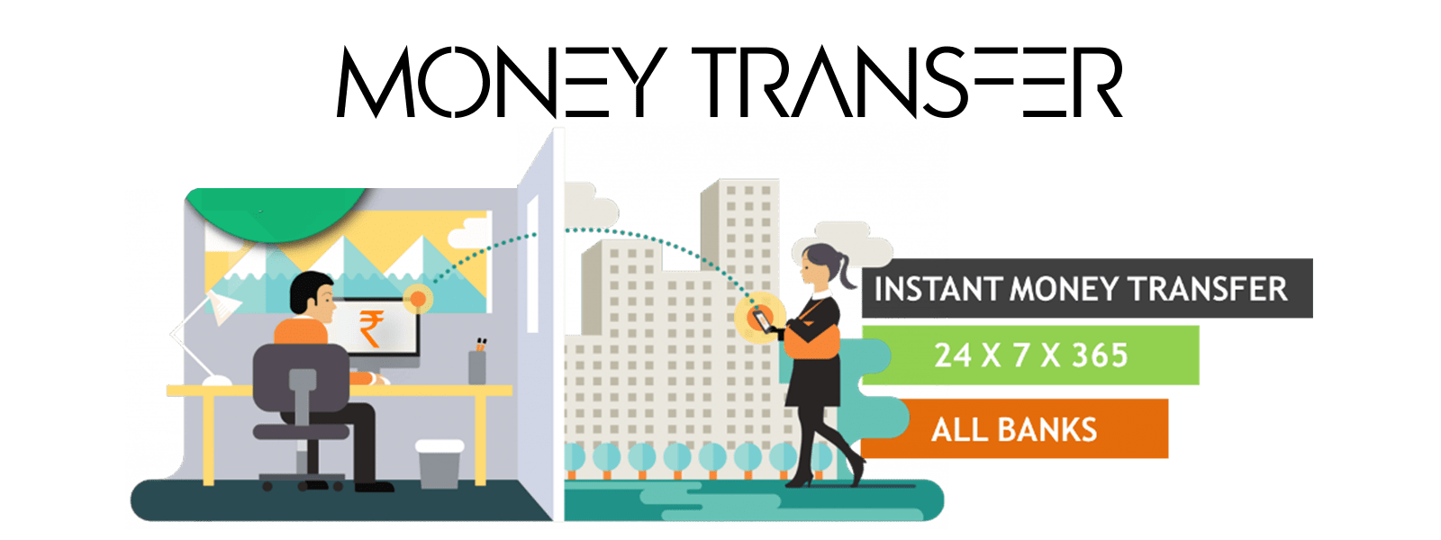 Transfer Money To Any Bank Account Anywhere In India At Time